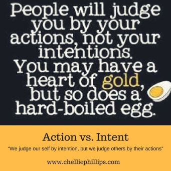 Action vs intent