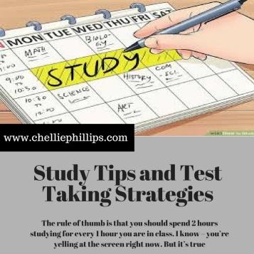 test taking and study skills